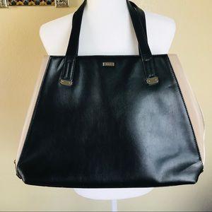 Lauren Ralph Lauren Color block purse zipper side